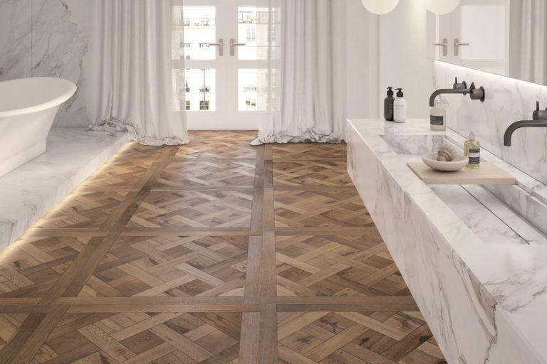 Eiken vloer Versailles patroon vloer